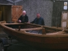 Sandy Fairfoul & Ali with Dalguise boat now ready for the new fishing season, after they made extensive repairs.