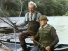 Stan giving JR Hartley his first casting lesson, River Tay